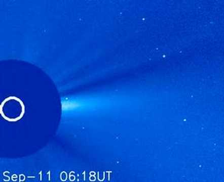 SOHO finds its first short-period comet