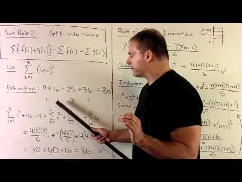 Overview of Summation Formulas
