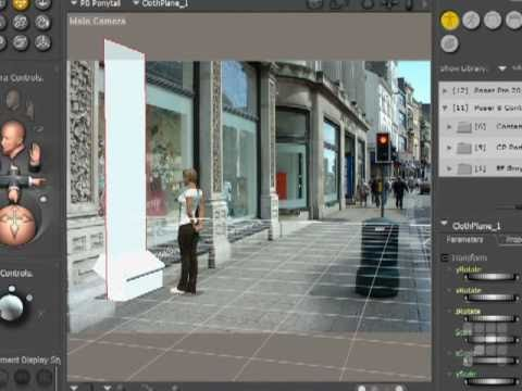 Rendering Effects - Poser Tutorial 2010