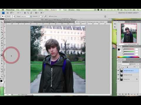 Photoshop Tutorial: How to make an UNREAL Photo painting effect / 10 Step Photoshop Wonders