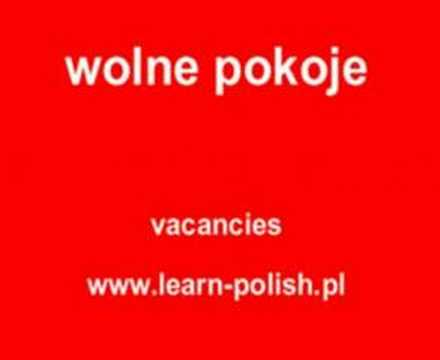 Polish holiday phrase book