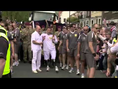 Olympic Torch Relay Day 39 Highlights - London 2012