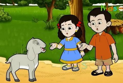 Nursery Rhymes - Bujji Meka - Telugu Animated Rhymes for Kids