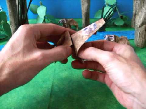Origami Marmot