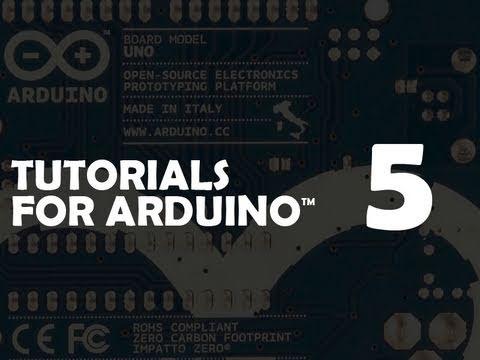 Tutorial 05 for Arduino: Motors and Transistors