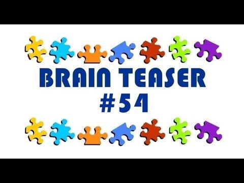 Video Brain Teaser #54