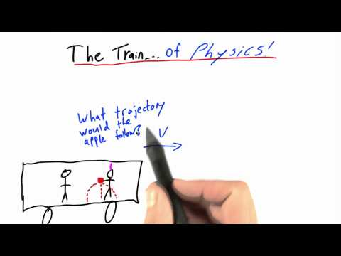 The Train of Physics - Intro to Physics - What causes motion - Udacity
