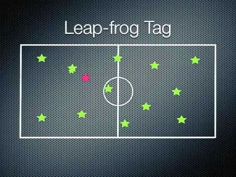 P.E. Games - Leap-frog Tag