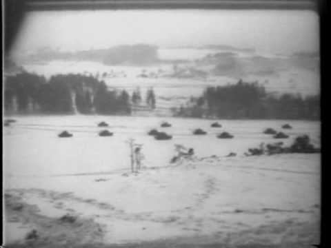 NATO War Games. Germany Is Stage For Big Winter Maneuvers 1961 Newsreel