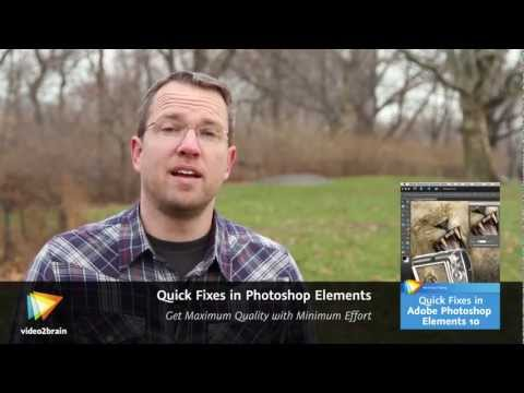 Quick Fixes in Photoshop Elements Trailer