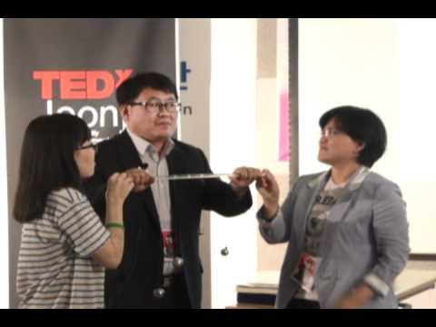 "TEDxJeonju - Jong sul Jeon - ""Vibration of a mind and spectrum."""