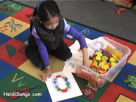 Numbers 0-30 Pattern Block Manipulatives