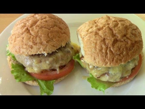 Turkey Burgers - RECIPE