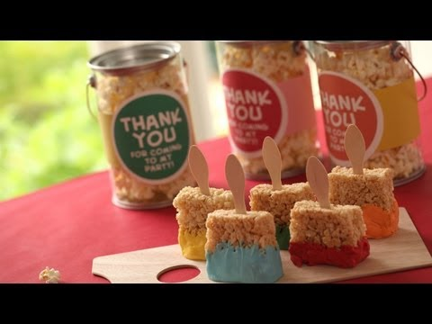 Snacks & Favors for an Art Party: How to Make    Kin Parents