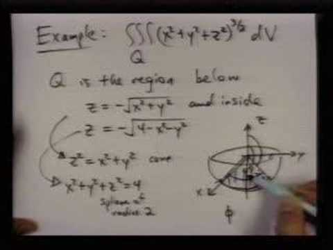 spherical coordinates example