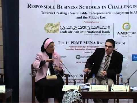 The First PRME MENA Regional Forum - Part 2