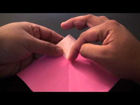Origami Daily - 164: Message Heart In A Heart (Valentine's Day) TCGames [HD]