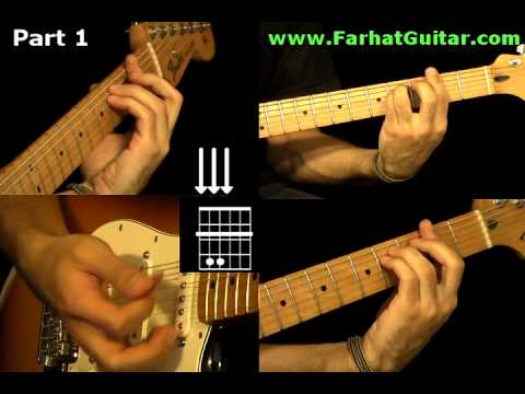 With a Little Help From My Friends The Beatles - Guitar Cover Part 1  www.Farhatguitar.com