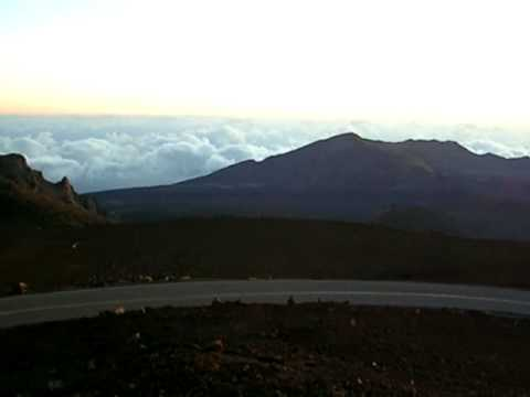 Sunrise at Haleakala Crater, Maui, Hawaii