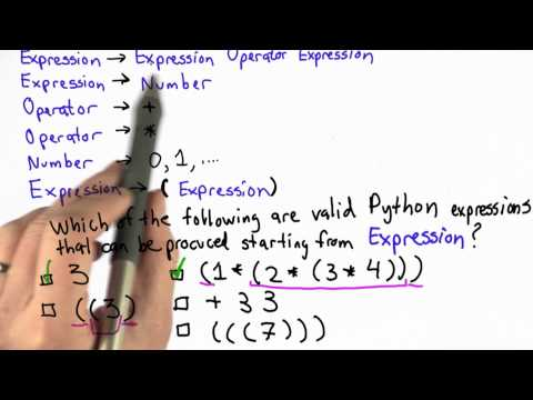 Solution of Python Expressions - CS101 - Udacity