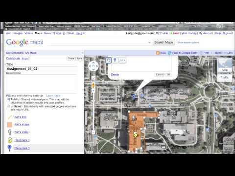 Part 2: Google Maps: How to embed video and photos, post to class site