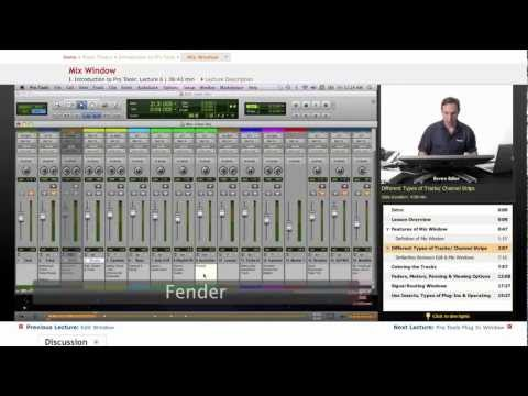 Pro Tools: Mix Window
