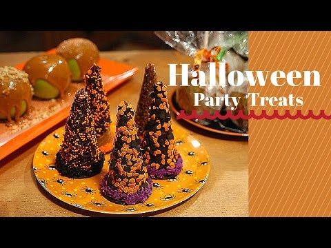 Yummy Halloween Treats-DIY