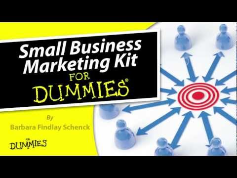 Small Business Marketing Kit For Dummies Schenck 1118311833