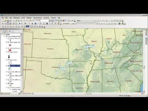 Stormy Weather: Examining 1 Day of Severe Storms with GIS Part 3