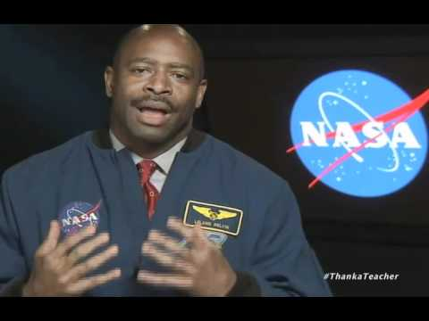 NASA's Leland Melvin Thanks Teachers
