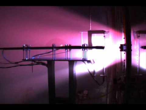 Plasma Sensors Glowing Red Hot in VASIMR Exhaust