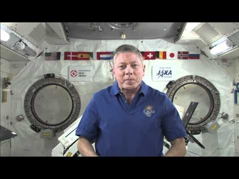 Space Station Commander Takes Questions from CNN, MSNBC