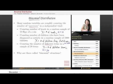 Statistics: Binomial Distribution