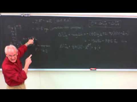 Saylor ME202: Engineering Physics Conservation of Energy 2