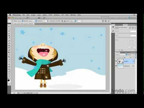 Using the Photoshop CS5 Puppet Warp feature | lynda.com tutorial