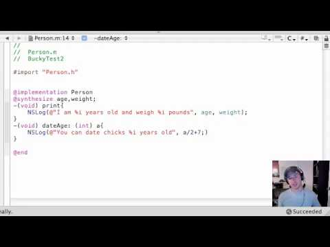 Objective C Programming Tutorial - 26 - How young of a chick can I date?