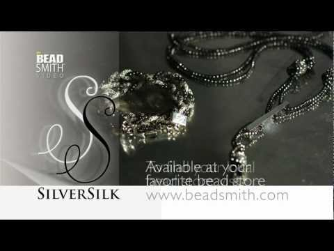 Silver Silk Capture Chain & End Caps by BeadSmith
