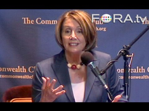 Pelosi Calls for Investigation of Economic Crisis