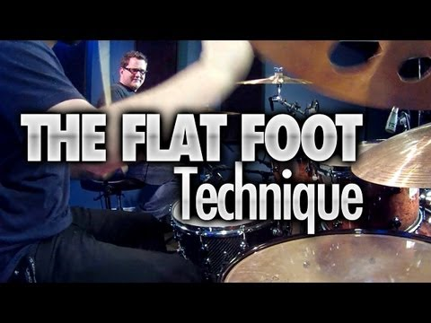 The Flat Foot Technique - Drumeo Live Lesson
