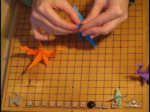 Origami Dragon Smaug Instructions