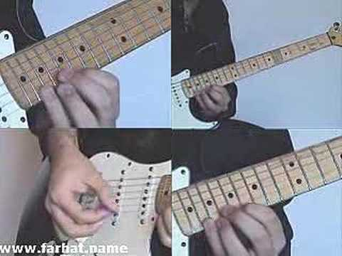 sweep picking exercise video lesson leccion 2 www.Farhatguitar.com