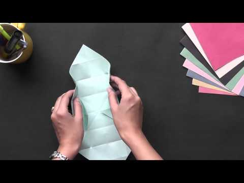 Origami - Make a Box with sections - Part 1