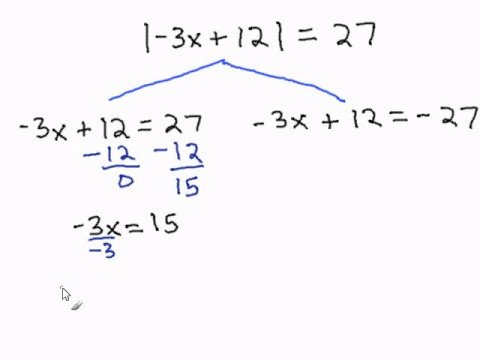Solving Multi-Step Equations with Absolute Values