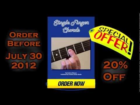 Single Finger Chords - Guitar Course