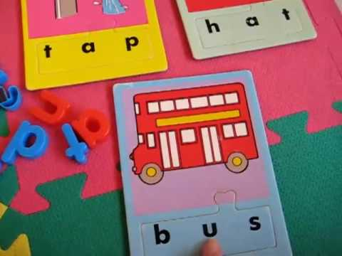 Toddler - Reading. letter matching