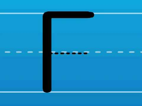 Print the Letter F with Hooked on Phonics Learn to Read