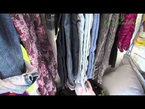 Organizing Your Closet (Pants, Shoes & Earrings)