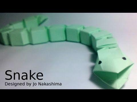 Origami Snake (Jo Nakashima) - Modular version remake