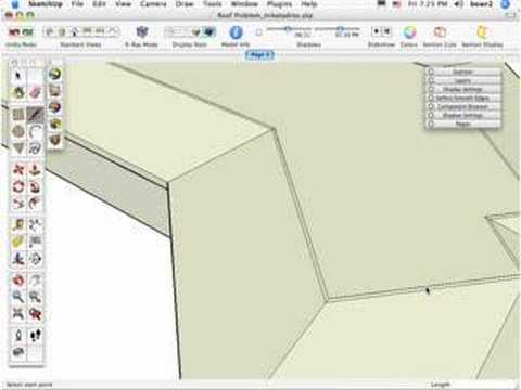 The Sketchup Show #6: Follow-Me tool roof (Pt.2)