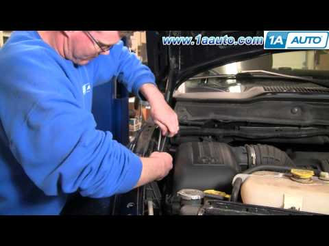 How to Install Repair Replace Hood Support Struts Dodge Ram 02-08 1AAuto.com